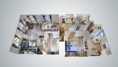 Ferienwohnung Gästehaus Teetied 31 in Esens 3D Model