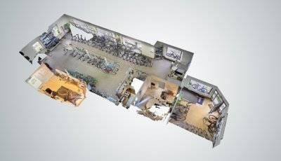 HM Fahrräder in Westerholt 3D Model