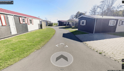 Nordsee Camp Chalets in Norddeich Google Street View 3D Model