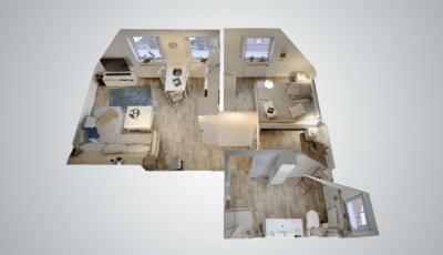 Ferienwohnung Heimathafen in Dornum 3D Model