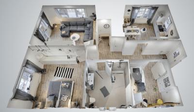 Ferienwohnung Nordseekoje in Dornum 3D Model