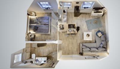 Ferienwohnung Ankerplatz in Dornum 3D Model