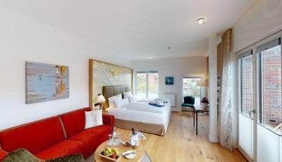 Inselhotel VierJahresZeiten Villa Düne Suite 634 auf Borkum 3D Model