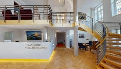 Strandhotel VierJahresZeiten Empfang auf Borkum 3D Model