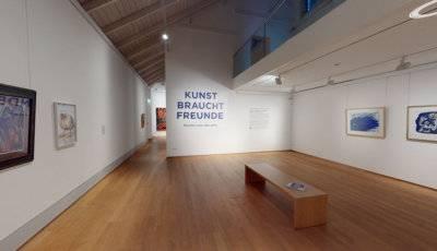 Kunsthalle Emden KUNST BRAUCHT FREUNDE 3D Model